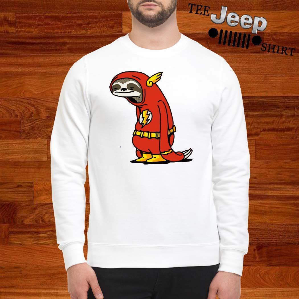 Sloth Flash Sticker SweatshirtSloth Flash Sticker Sweatshirt