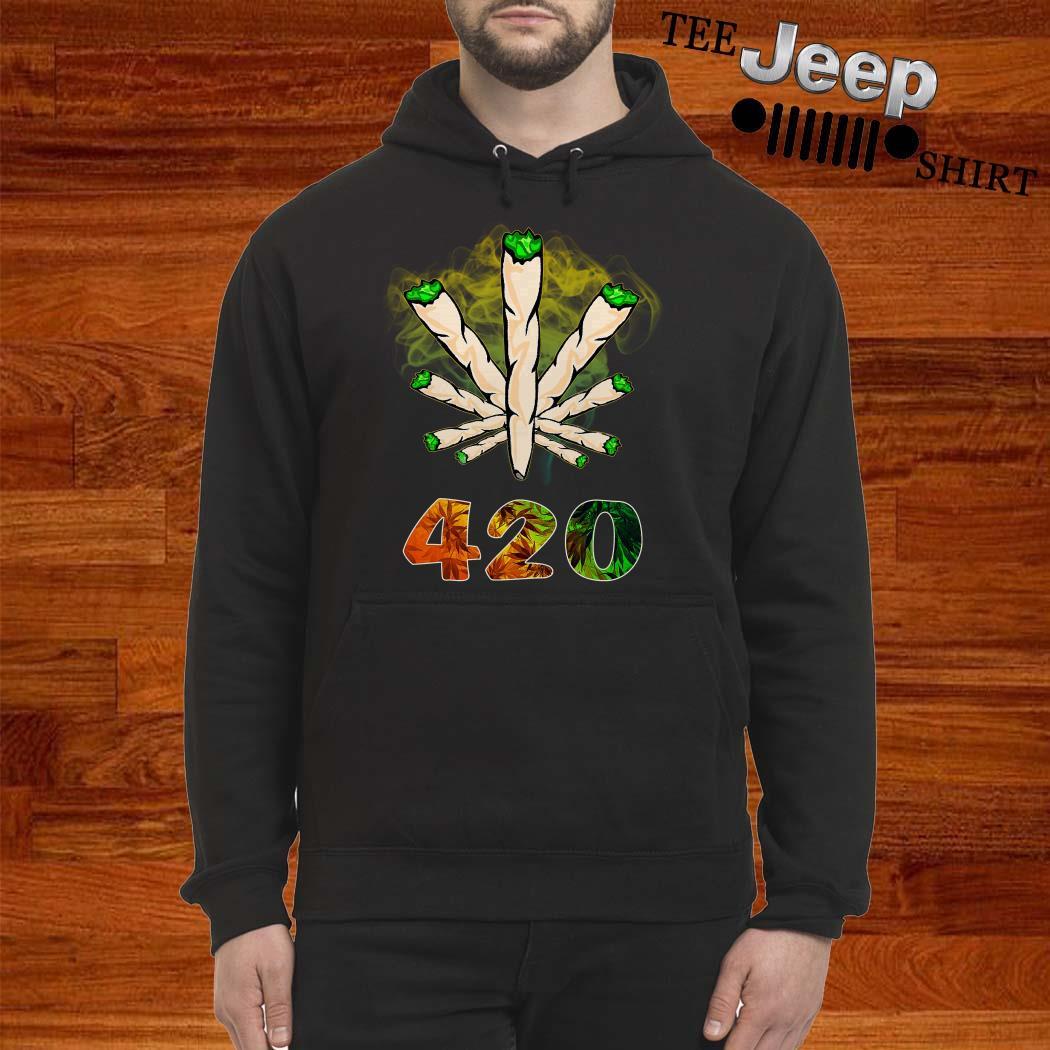 The Smoke Circle 420 Weed Hoodie