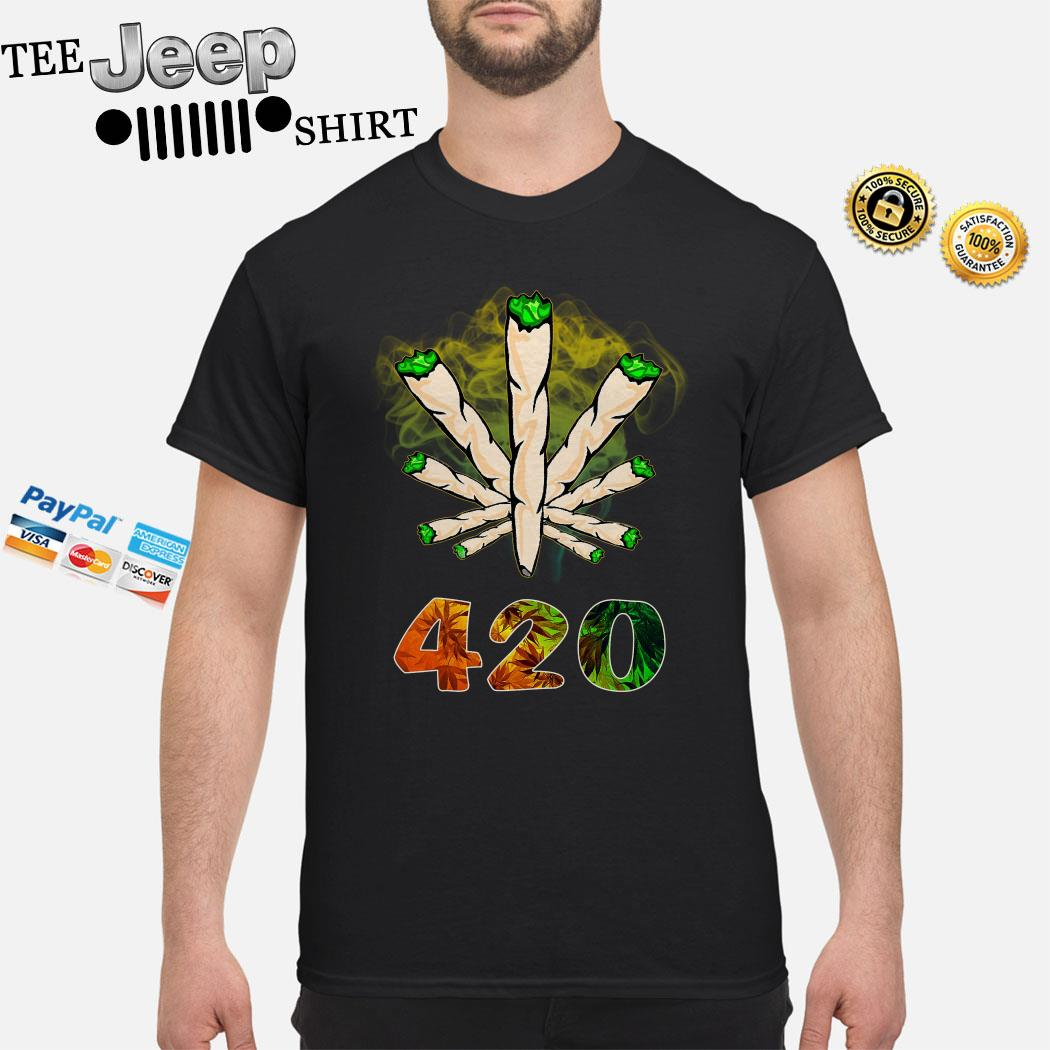 The Smoke Circle 420 Weed Shirt