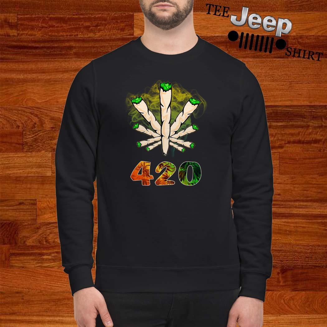 The Smoke Circle 420 Weed Sweatshirt
