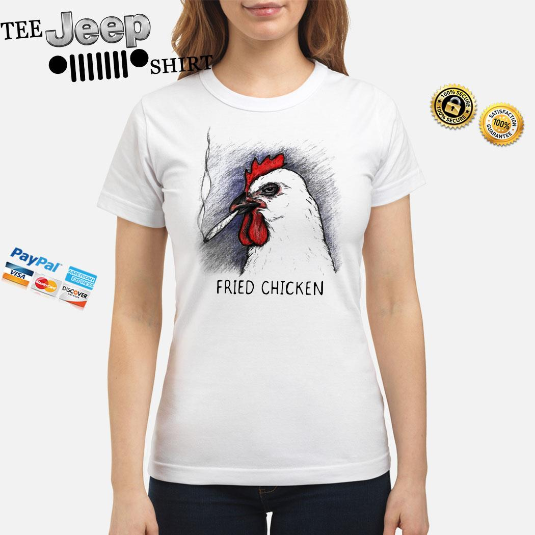 Smoked Fried Chicken Ladies Shirt