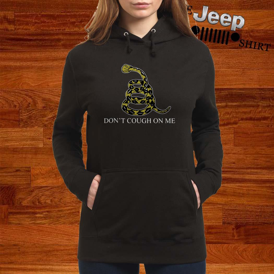 Snake Don't Cough On Me Hoodie
