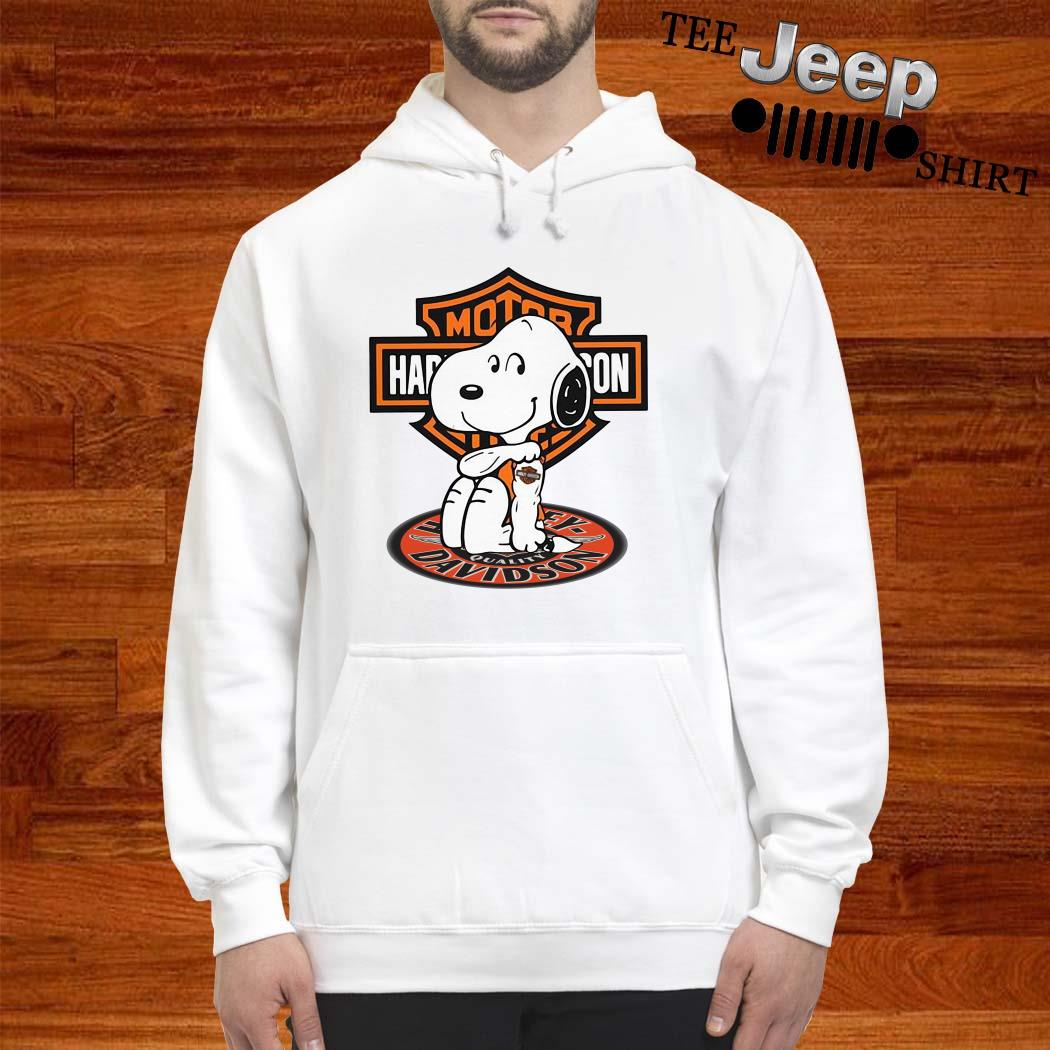 Snoopy Tattoo Motor Harley Davidson Hoodie