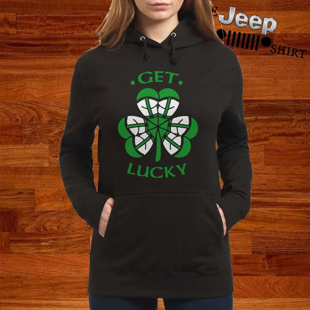 St Patrick's Day Get Lucky Hoodie