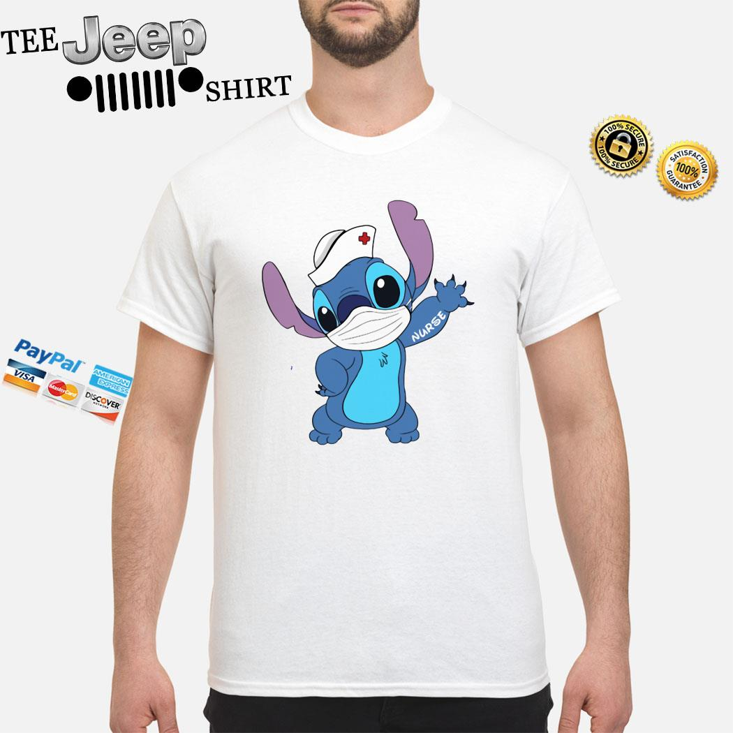 Stitch Mask Nurse Shirt