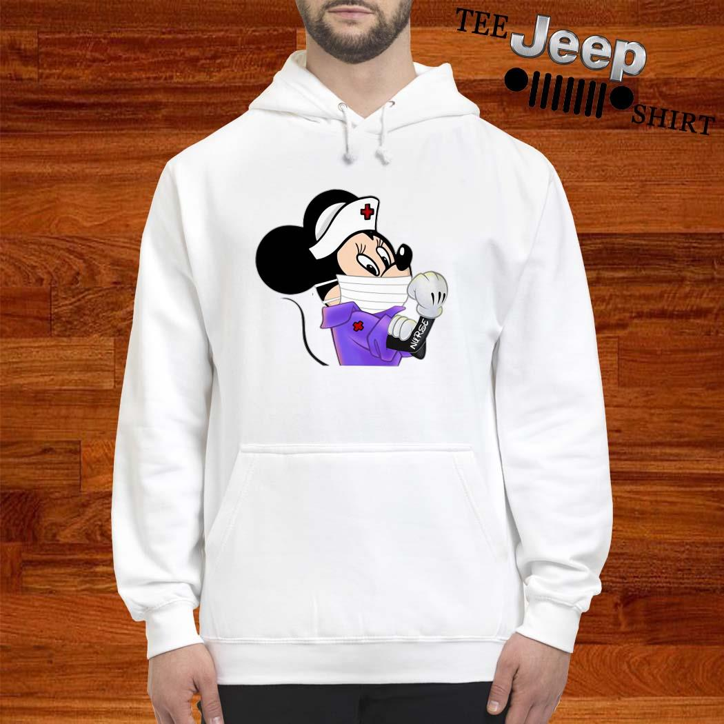 Strong Minnie Mouse Nurse Hoodie