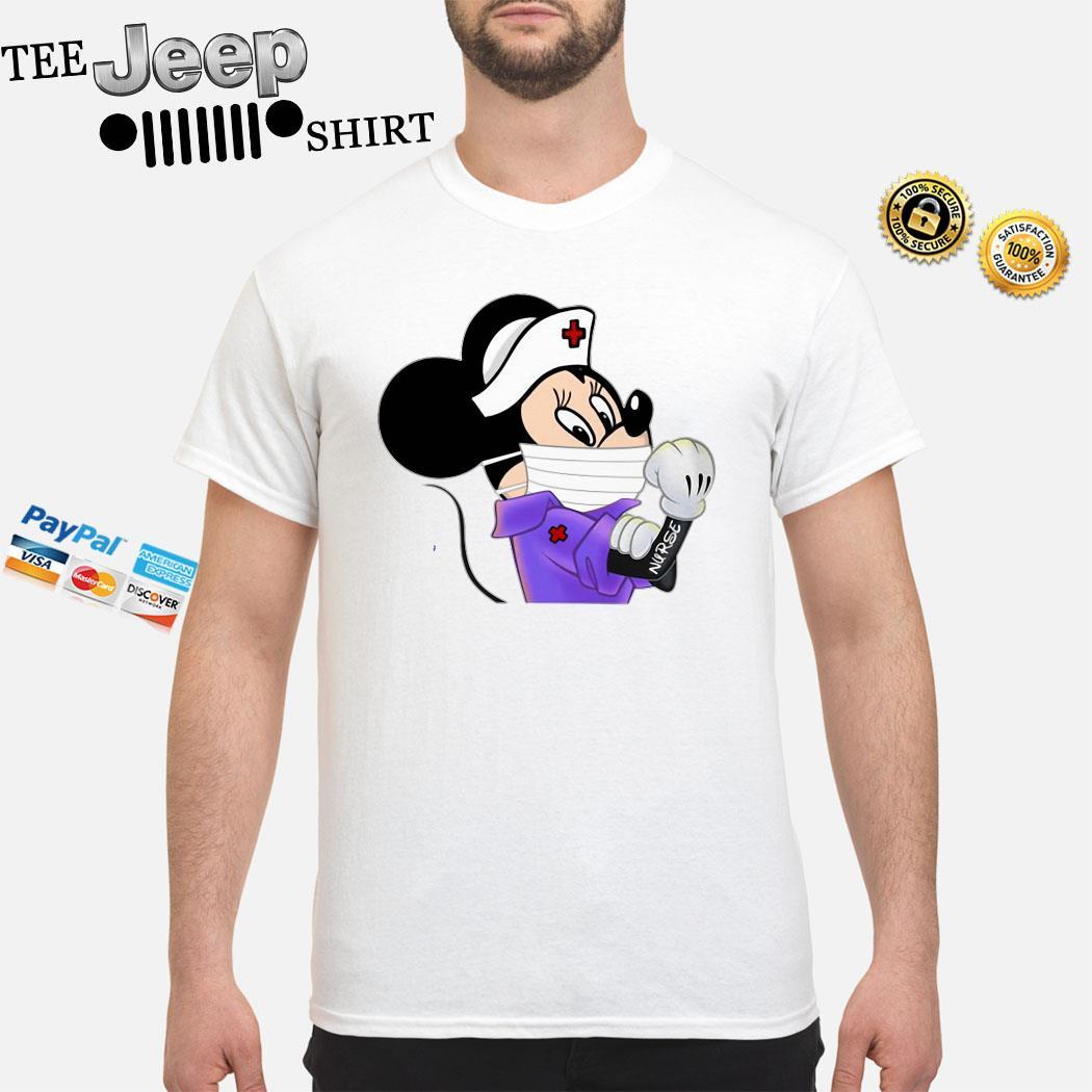 Strong Minnie Mouse Nurse Shirt