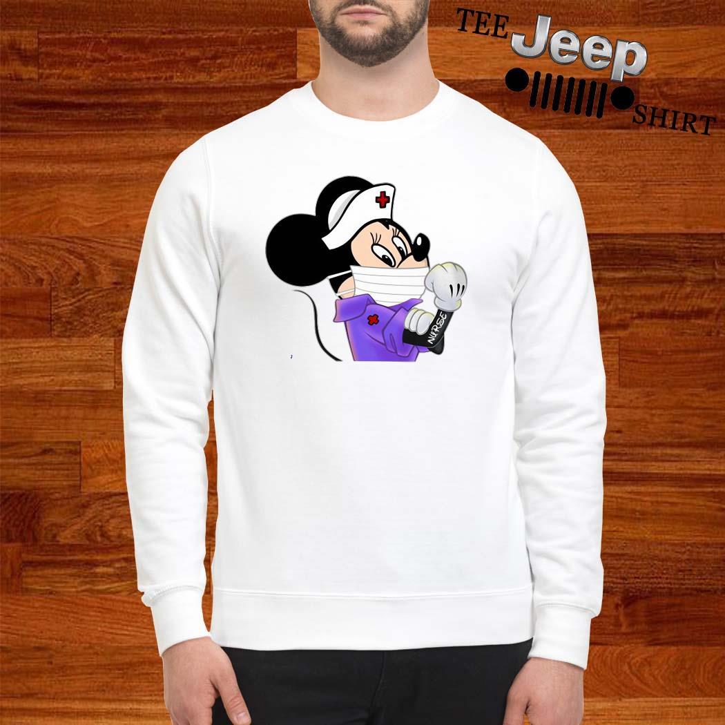 Strong Minnie Mouse Nurse Sweatshirt