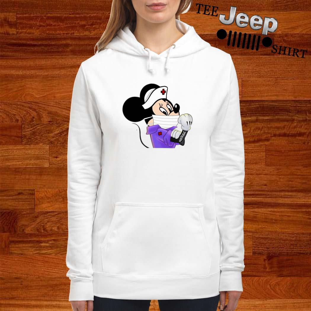 Strong Minnie Mouse Nurse Women Hoodie