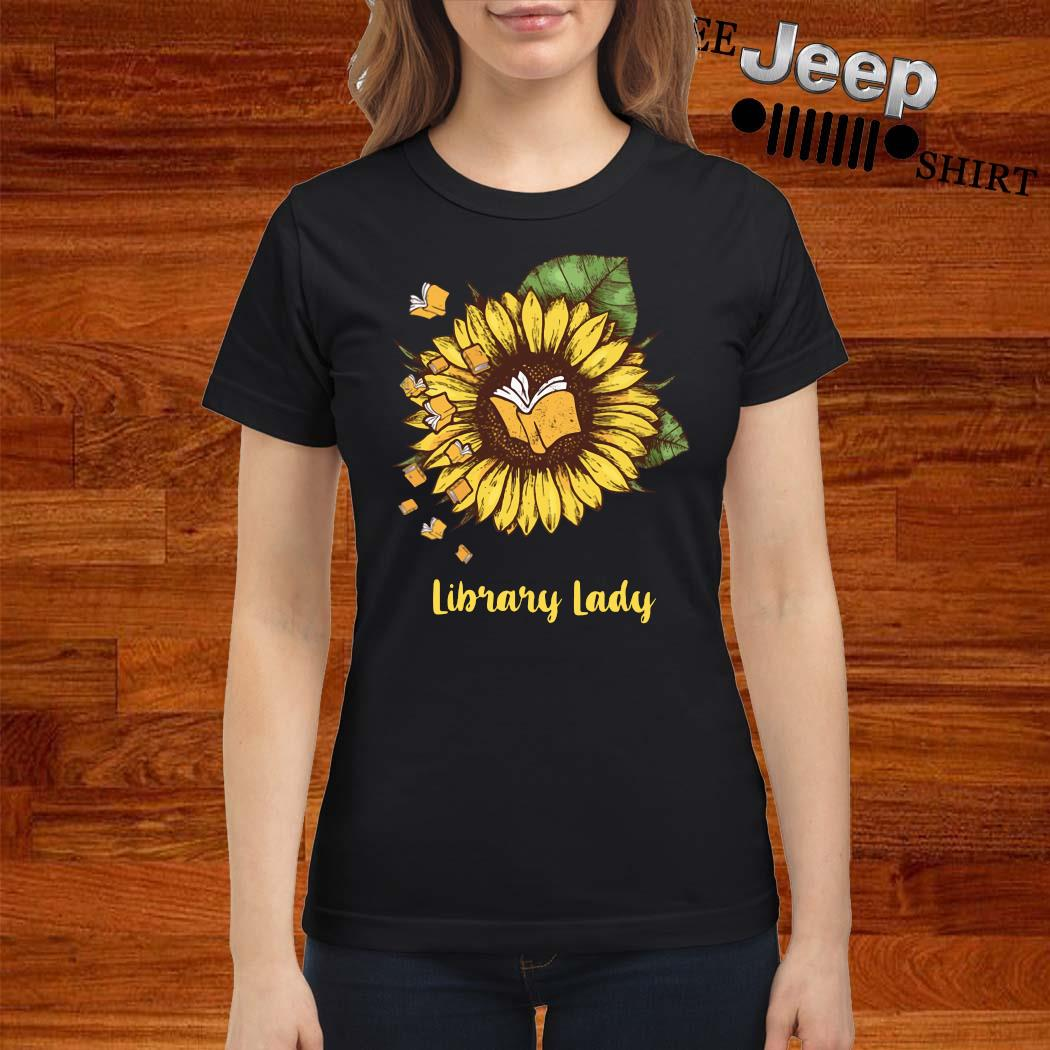 Sunflower Library Lady Shirt ladies-shirt
