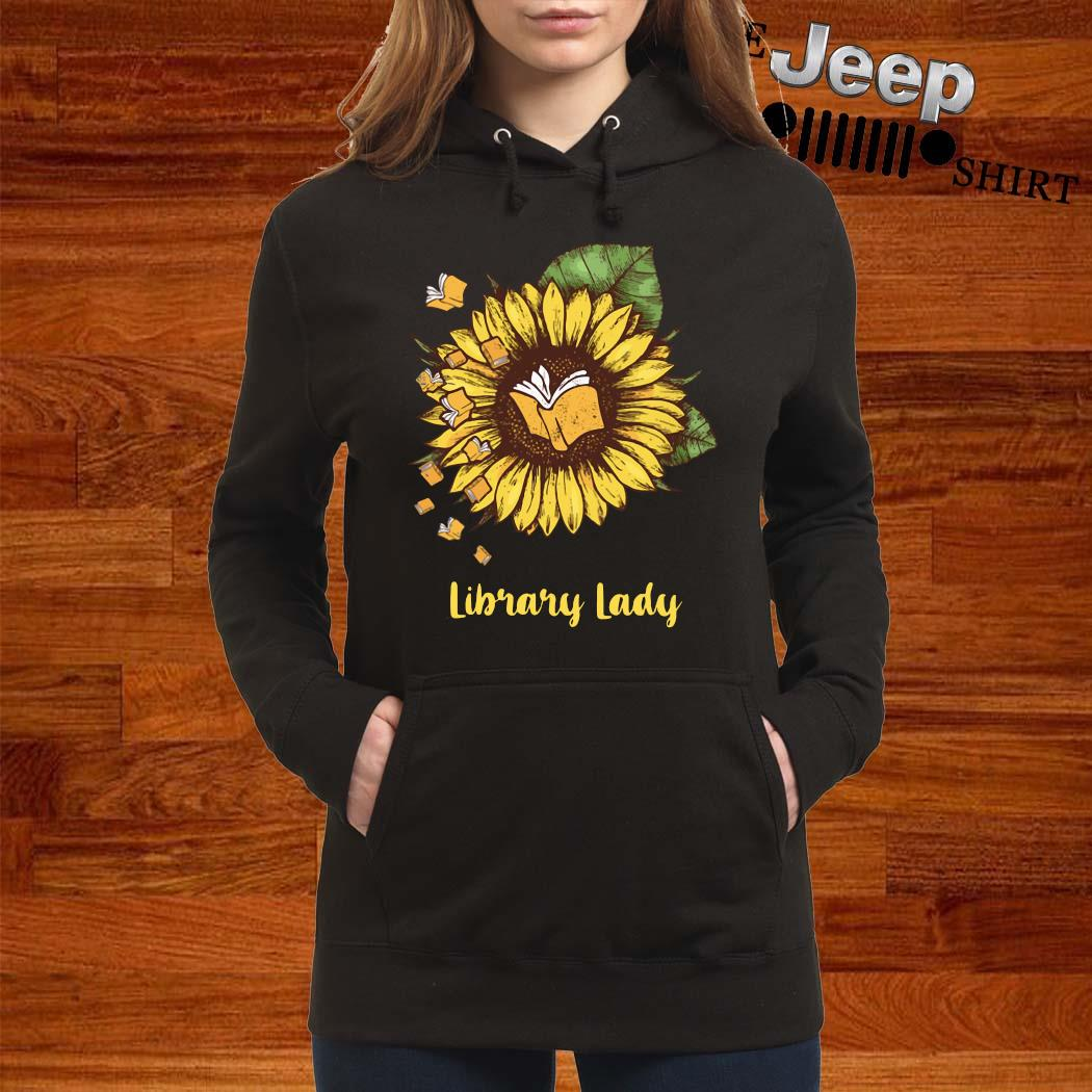Sunflower Library Lady Shirt women-hoodie