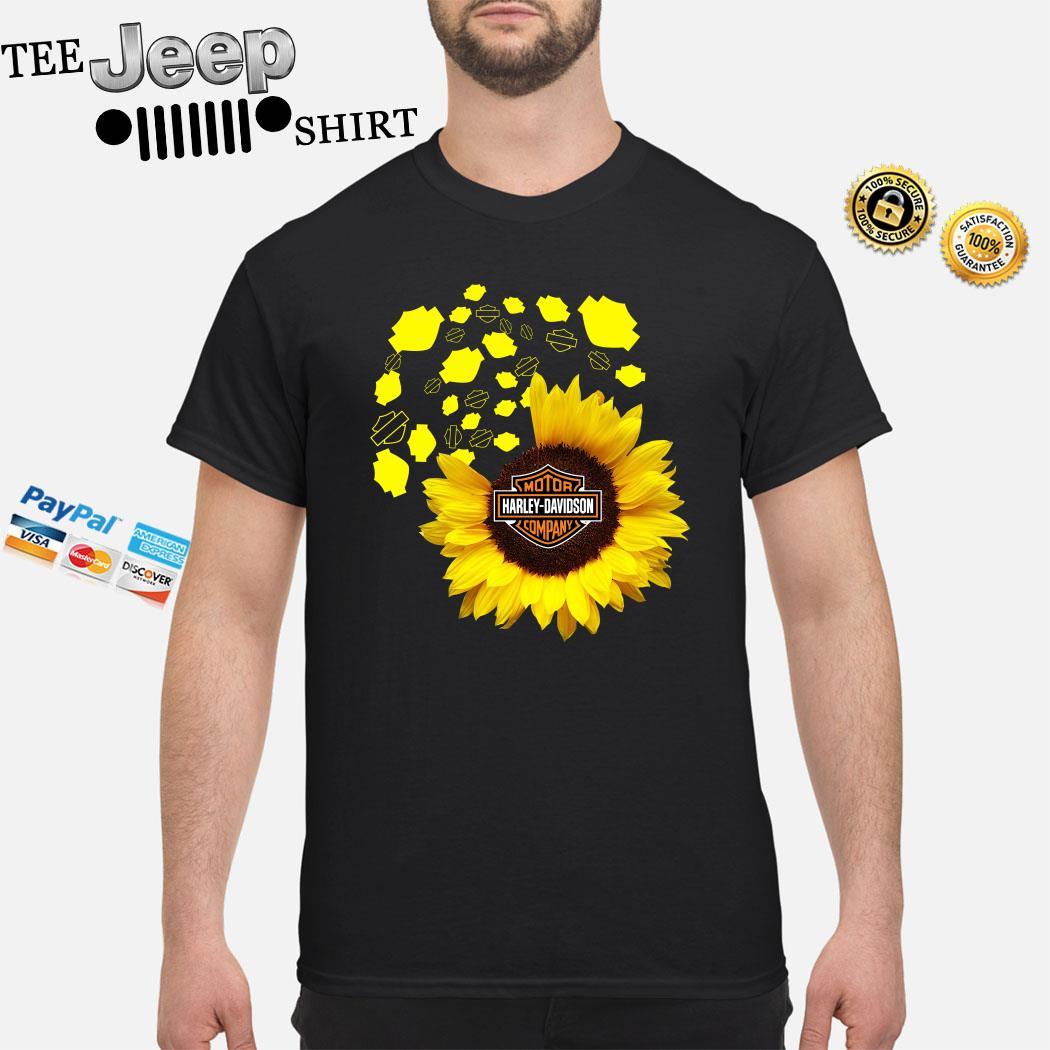 Sunflower Motor Harley Davidson Cycles Shirt