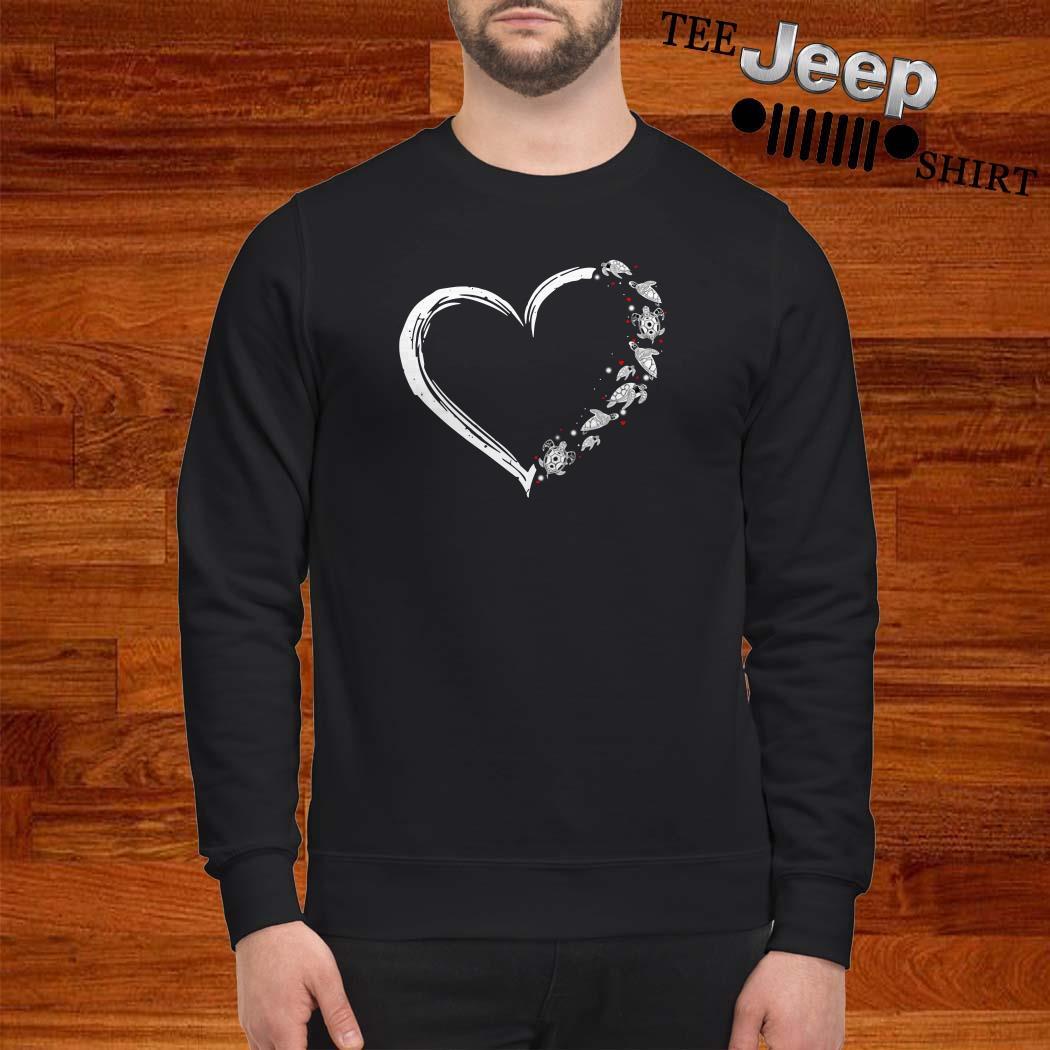 Turtles Heart Sweatshirt