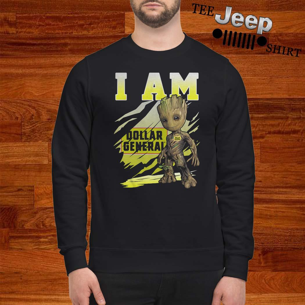 Baby Groot I Am Dollar General Shirt sweatshirt