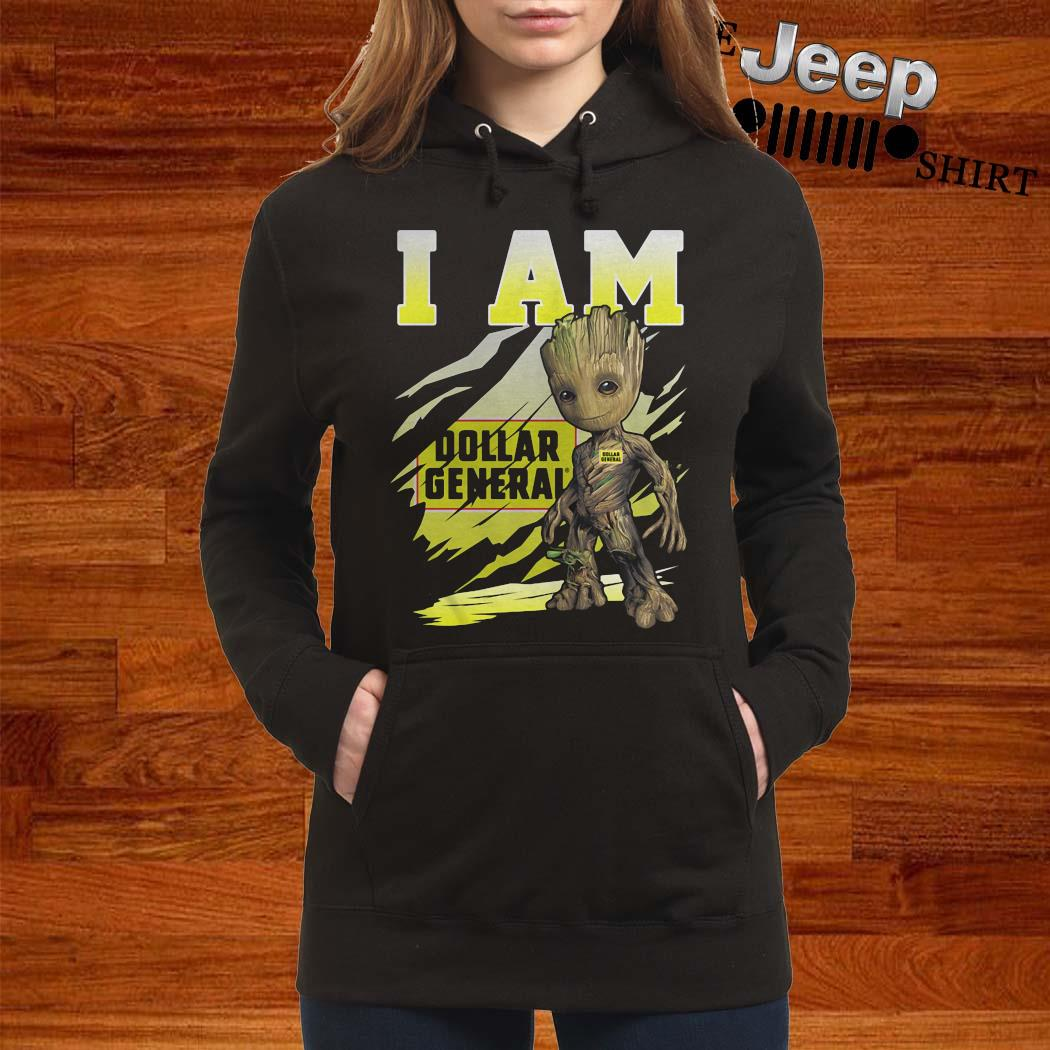 Baby Groot I Am Dollar General Shirt women-hoodie