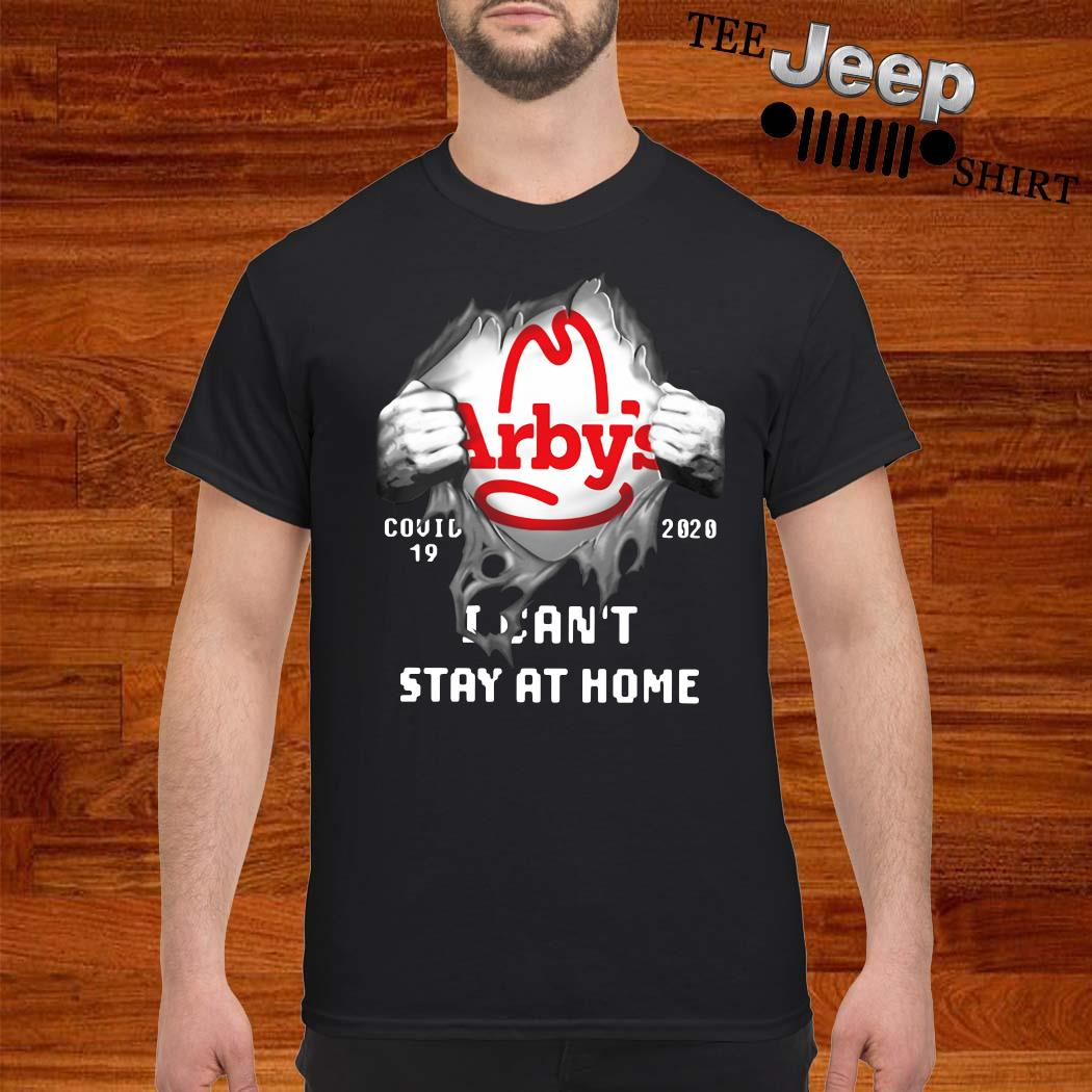Arby's Inside Me Covid-19 2020 I Can't Stay At Home Shirt