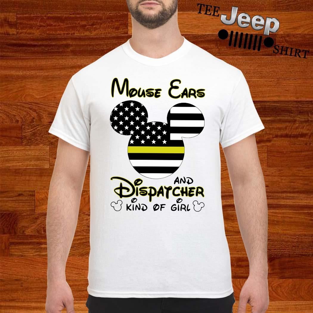Mickey Mouse Cars And Dispatcher Kind Of Girl Shirt