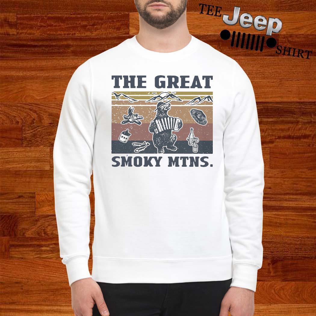 The Great Smoky Mtns Vintage Shirt sweatshirt