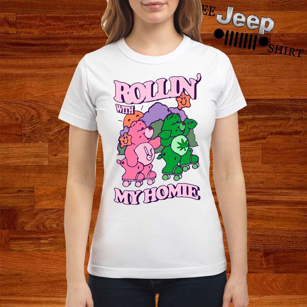 Bear Rollin' With My Home Shirt ladies-shirt