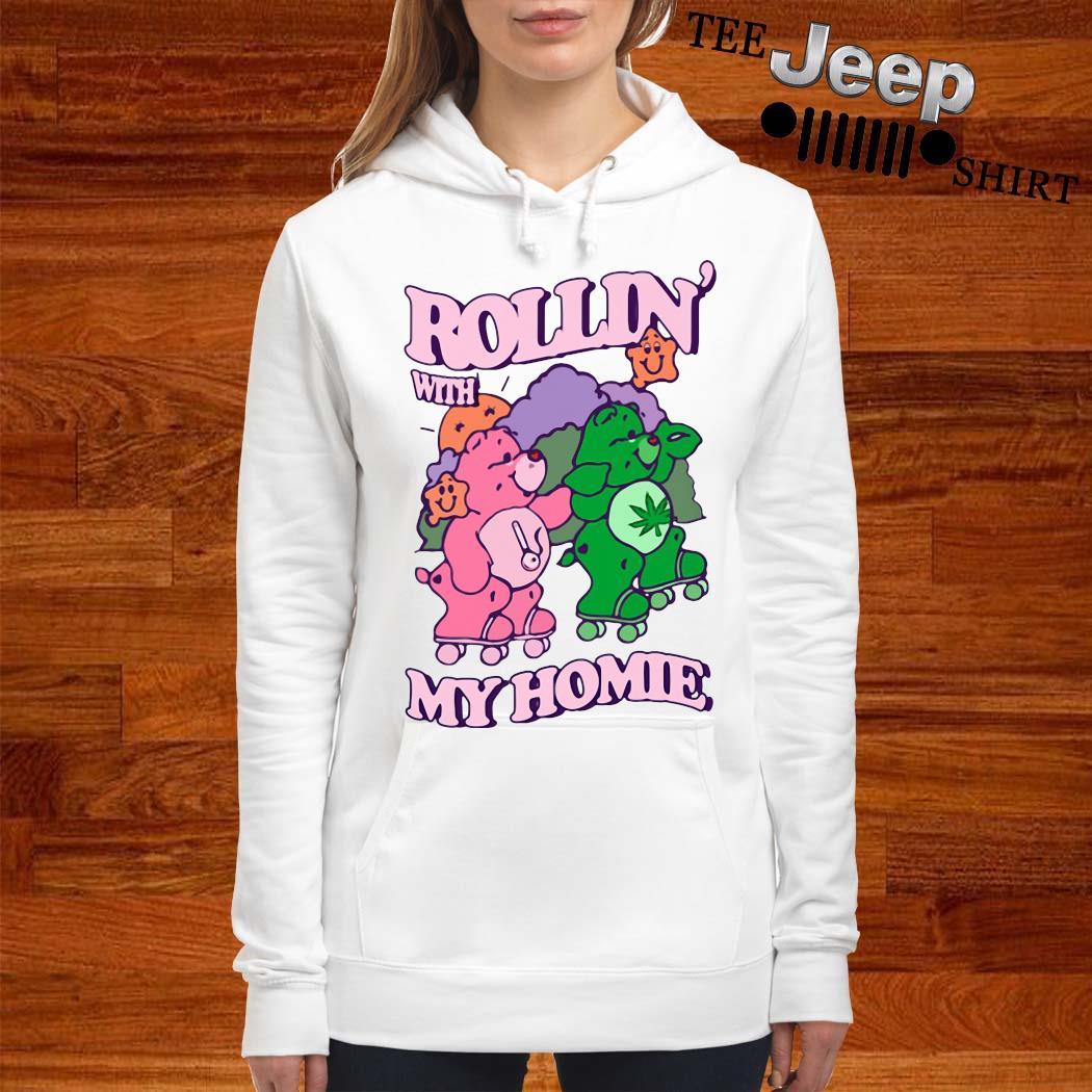 Bear Rollin' With My Home Shirt women-hoodie