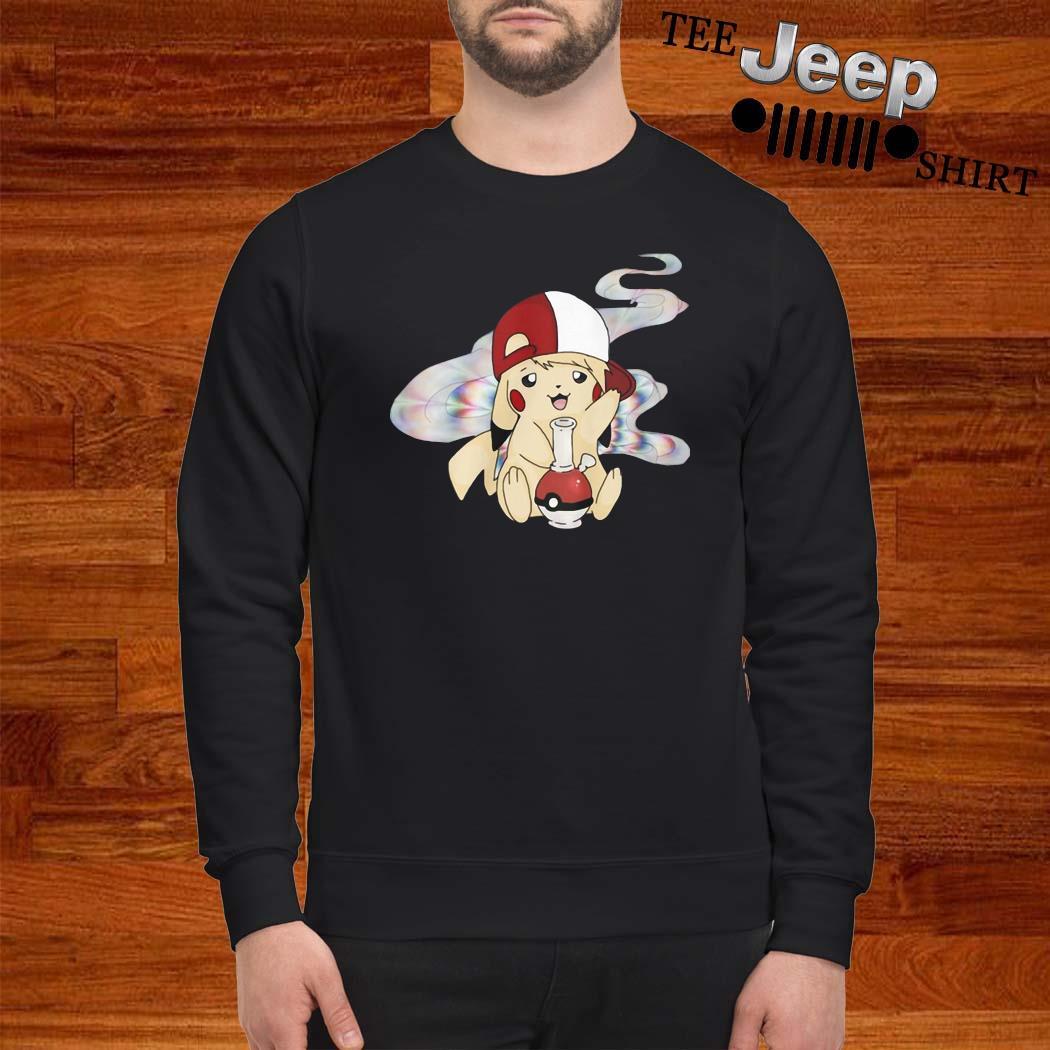 Pikachu Pokemon Smoking Weed Shirt sweatshirt