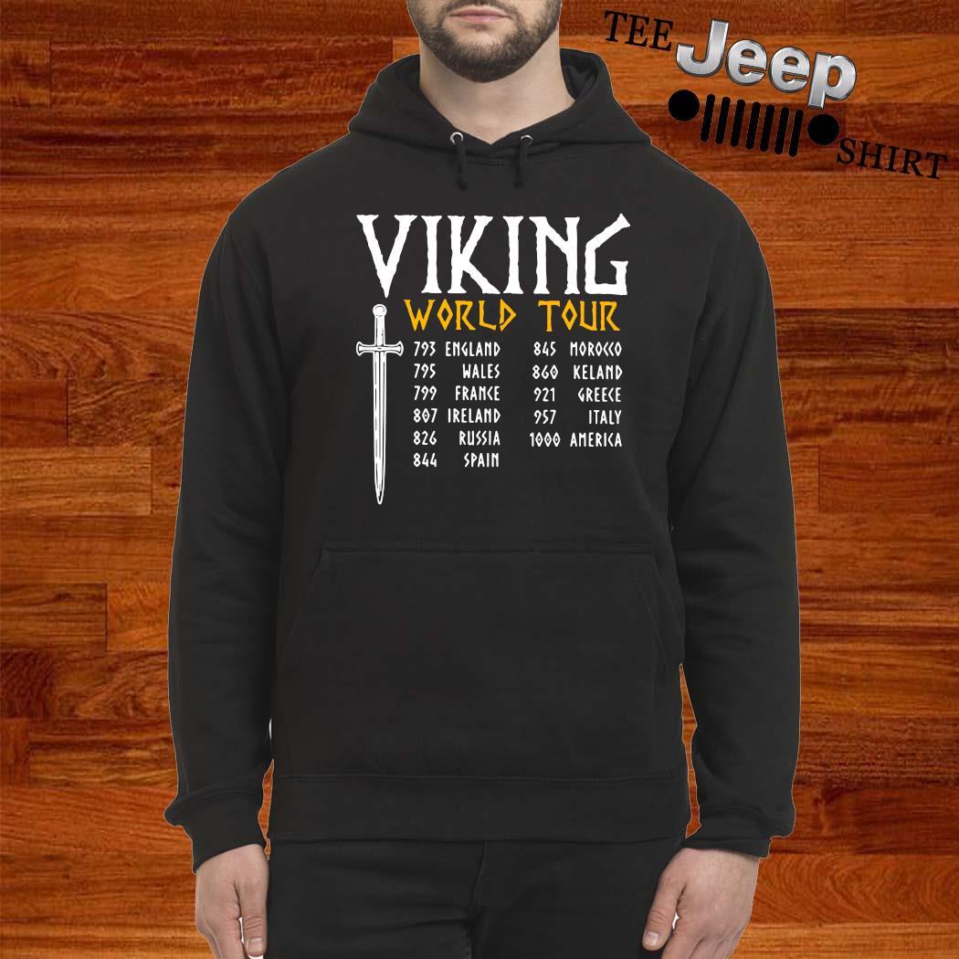 Viking World Tour Shirt hoodie