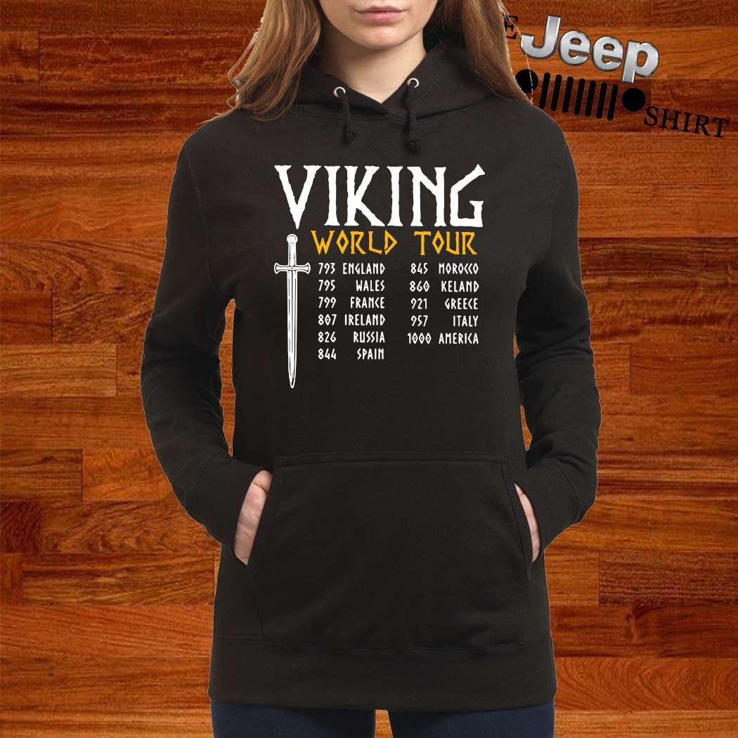 Viking World Tour Shirt women-hoodie