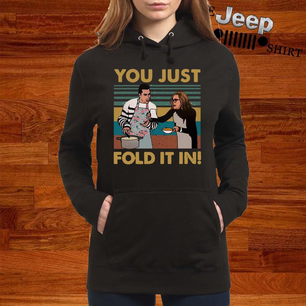 You Just Fold It In Vintage Shirt women-hoodie