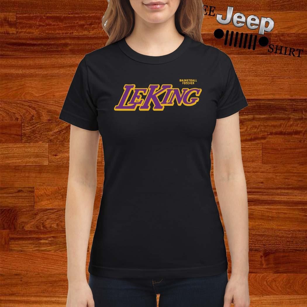 Basketball Forever Leking Shirt ladies-shirt