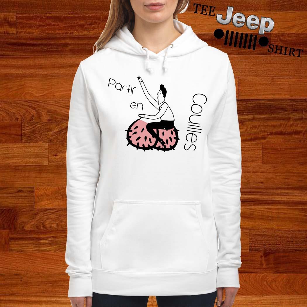 Partir En Couilles Shirt women-hoodie