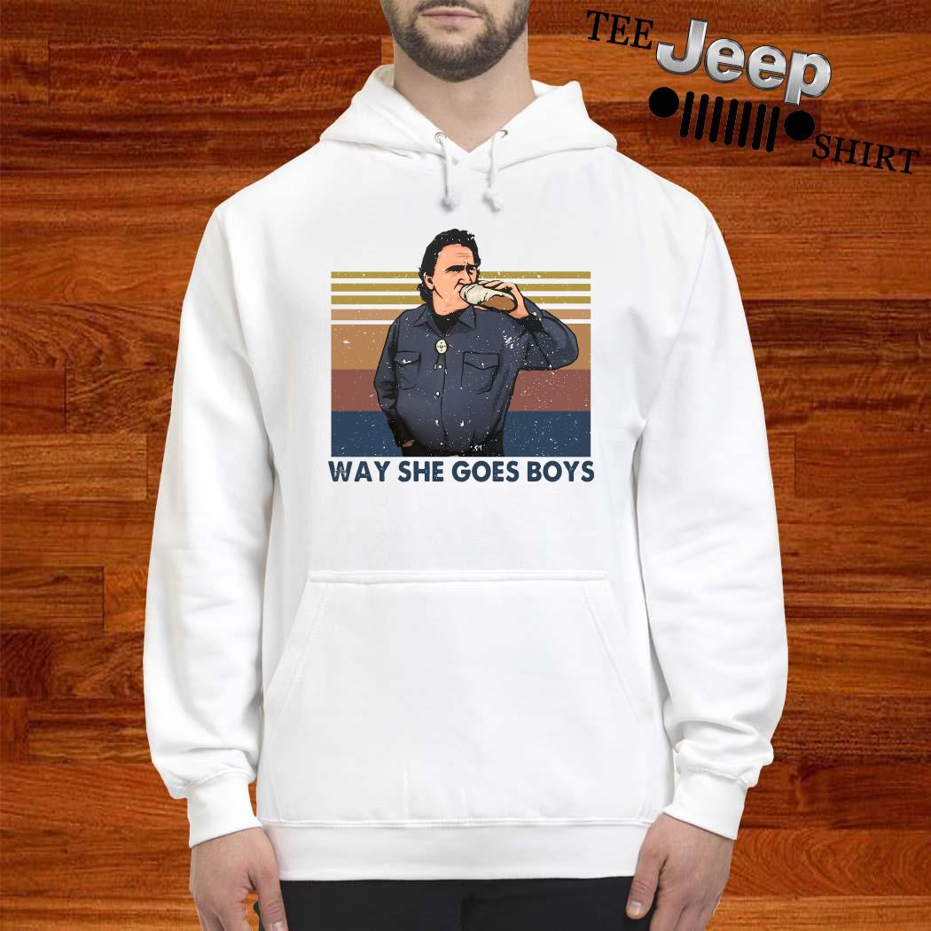 Way She Goes Boys Vintage Shirt hoodie