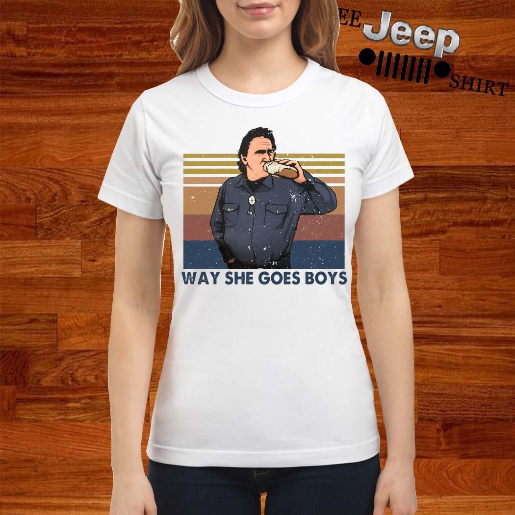 Way She Goes Boys Vintage Shirt ladies-shirt