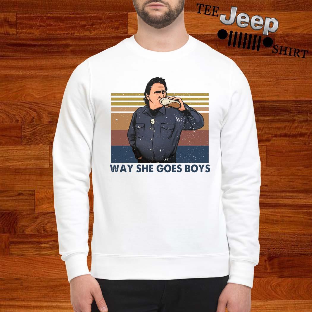 Way She Goes Boys Vintage Shirt sweatshirt