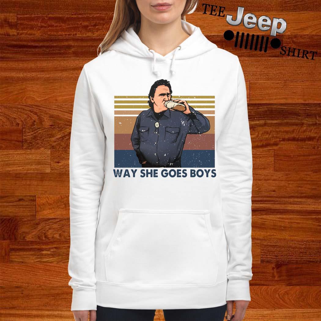 Way She Goes Boys Vintage Shirt women-hoodie