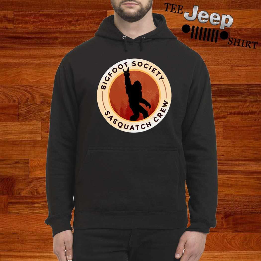 Bigfoot Society Sasquatch Crew Shirt hoodie