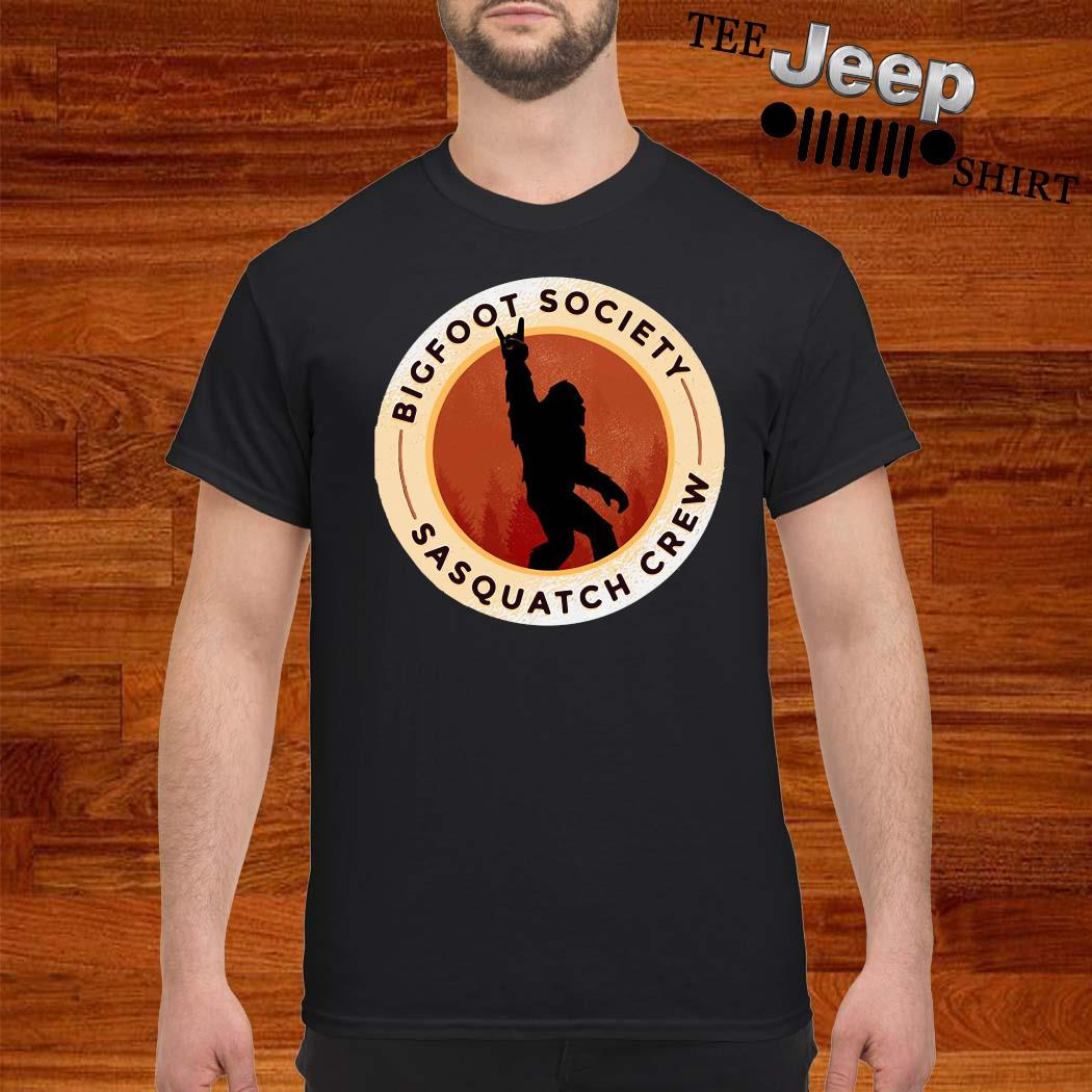 Bigfoot Society Sasquatch Crew Shirt