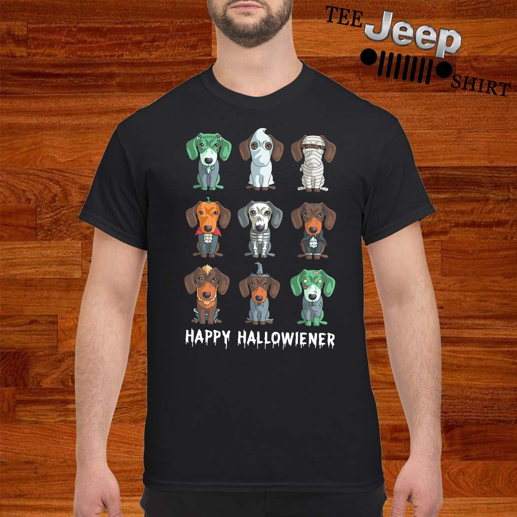 Dachshund Happy Halloween Shirt