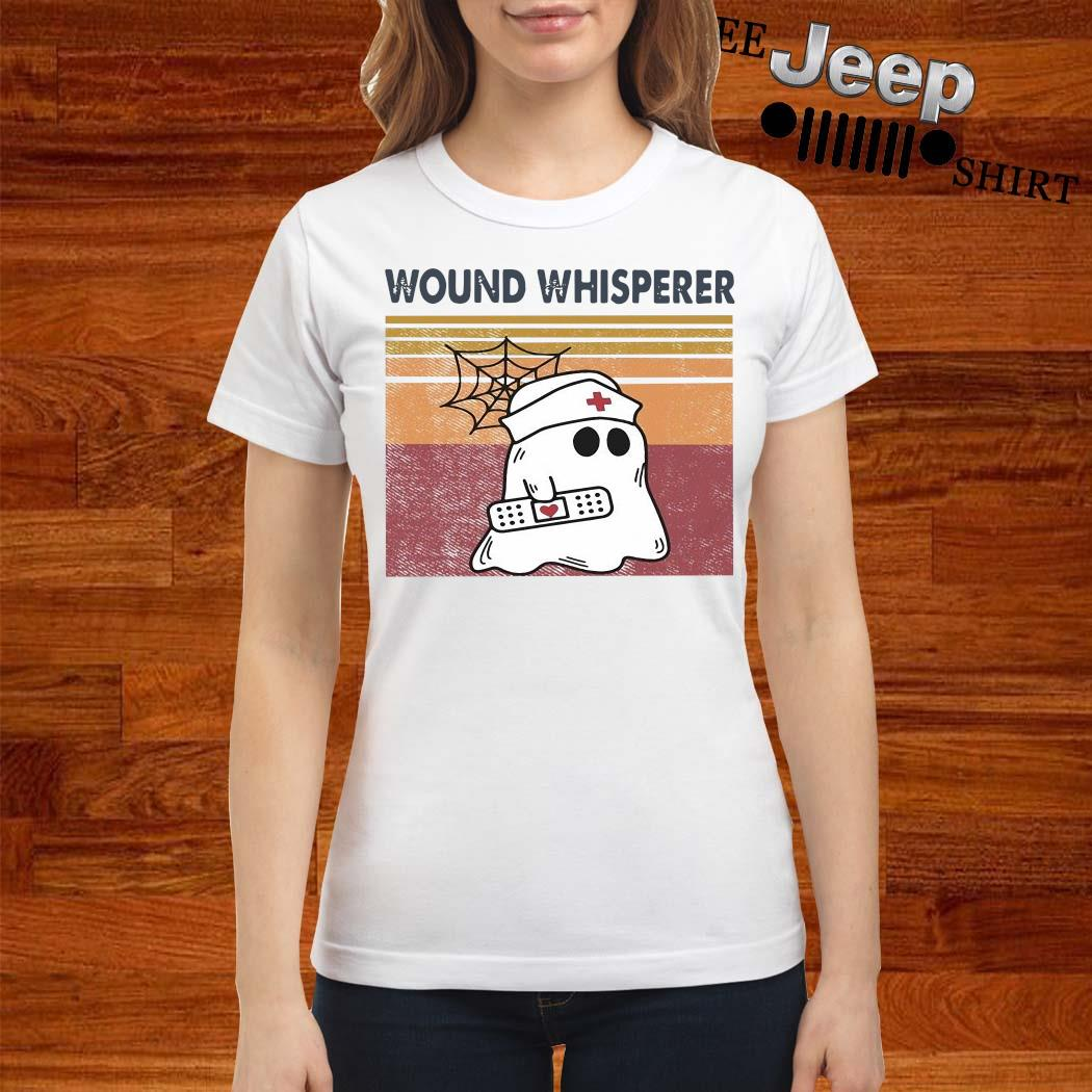 Ghost Wound Whisperer Vintage Shirt ladies-shirt