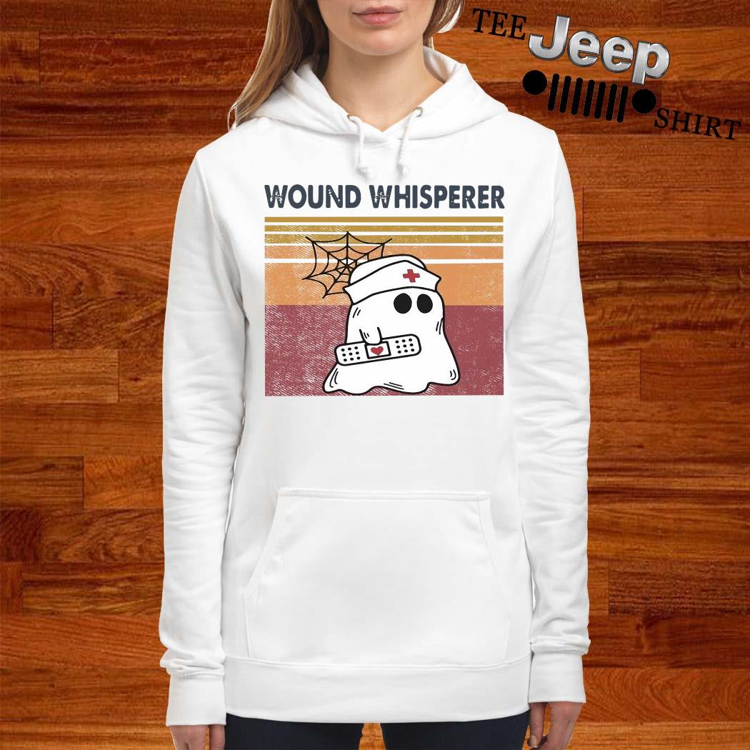 Ghost Wound Whisperer Vintage Shirt women-hoodie