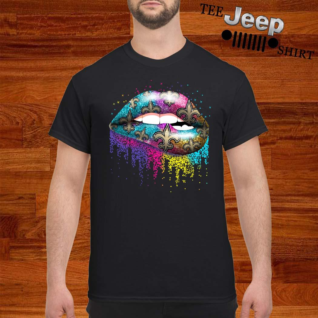 New Orleans Saints Lips Shirt