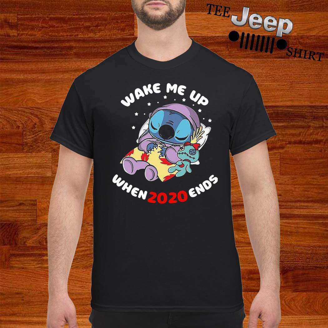 Stitch Wake Me Up When 2020 Ends Shirt