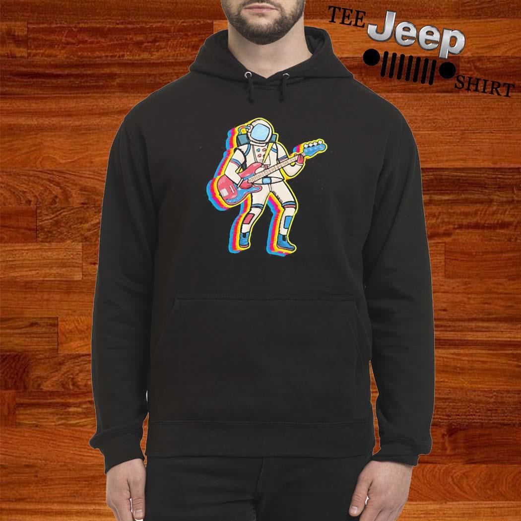 Bass Player Musician Astronaut Gift Idea Shirt hoodie