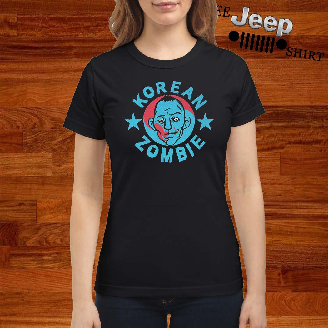 Korean Zombie 2020 Shirt ladies-shirt