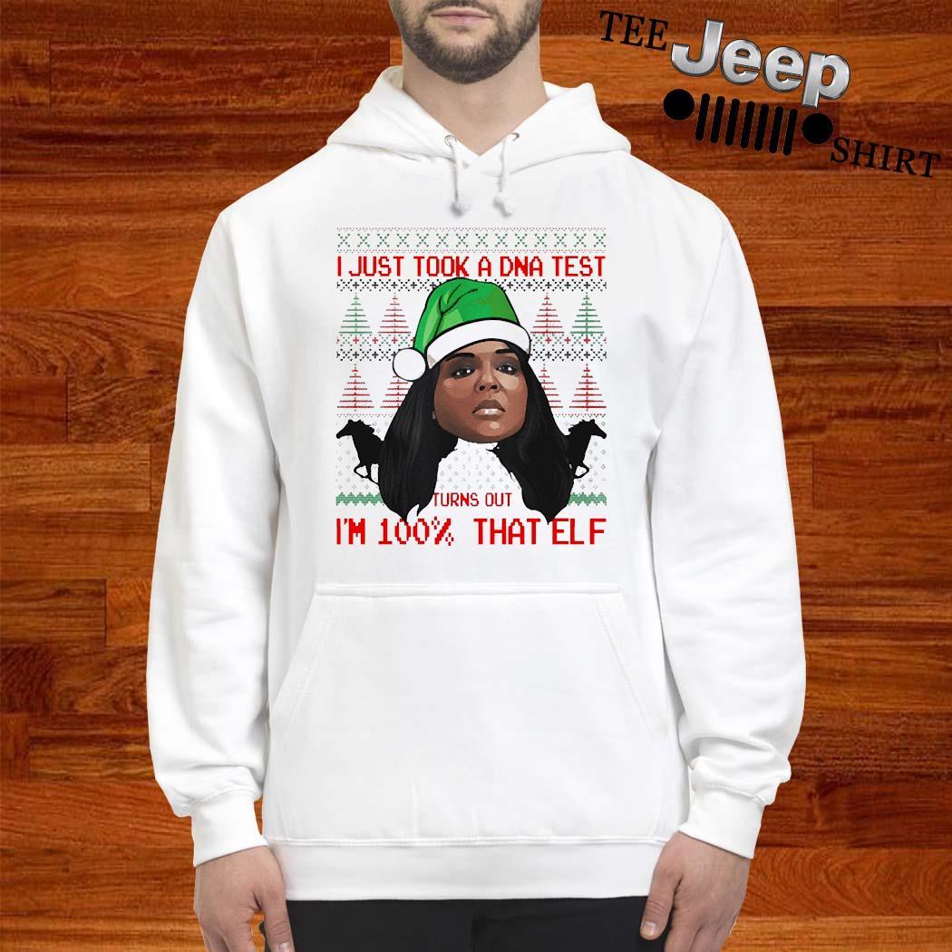 Lizzo 100 Percent That Elf Christmas Shirt hoodie