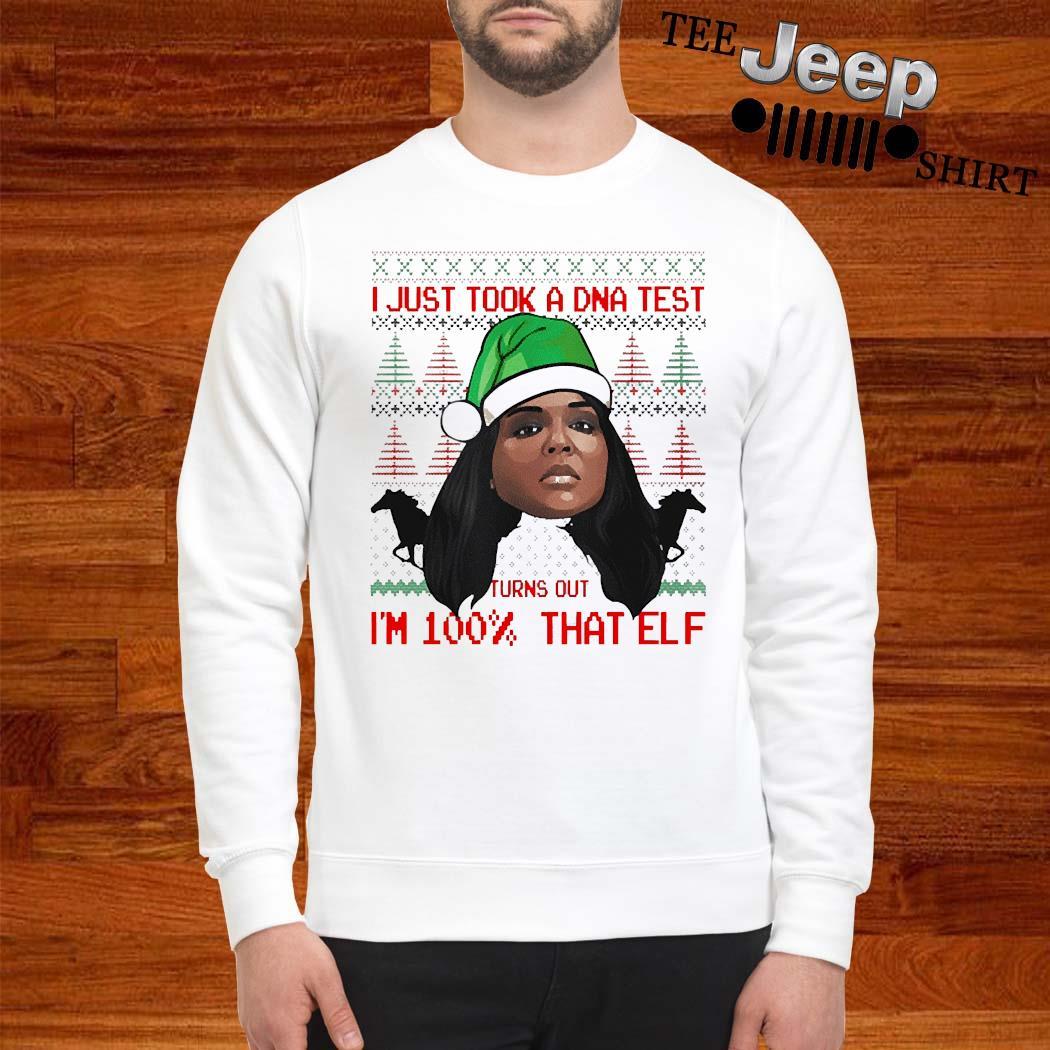 Lizzo 100 Percent That Elf Christmas Shirt sweatshirt