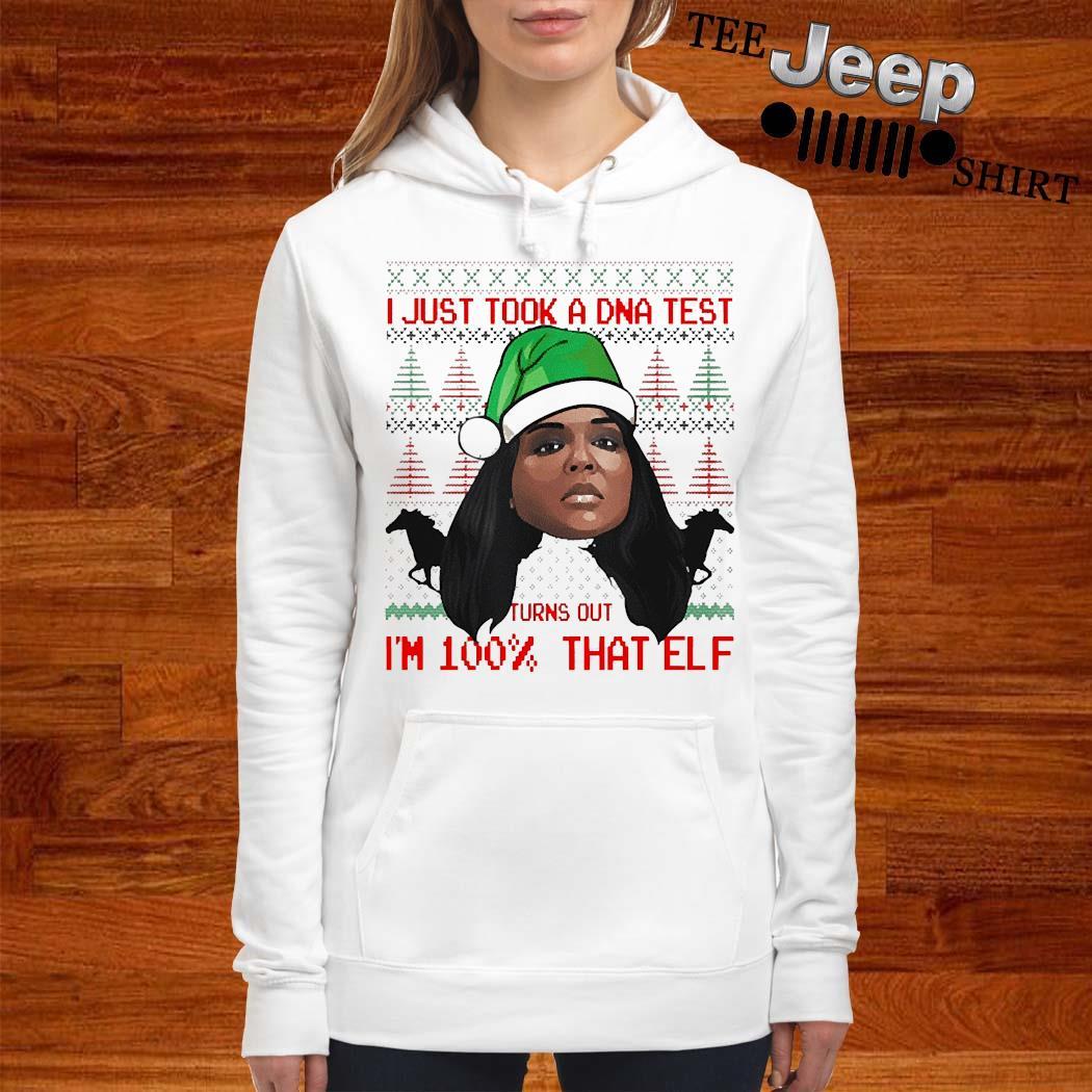 Lizzo 100 Percent That Elf Christmas Shirt women-hoodie