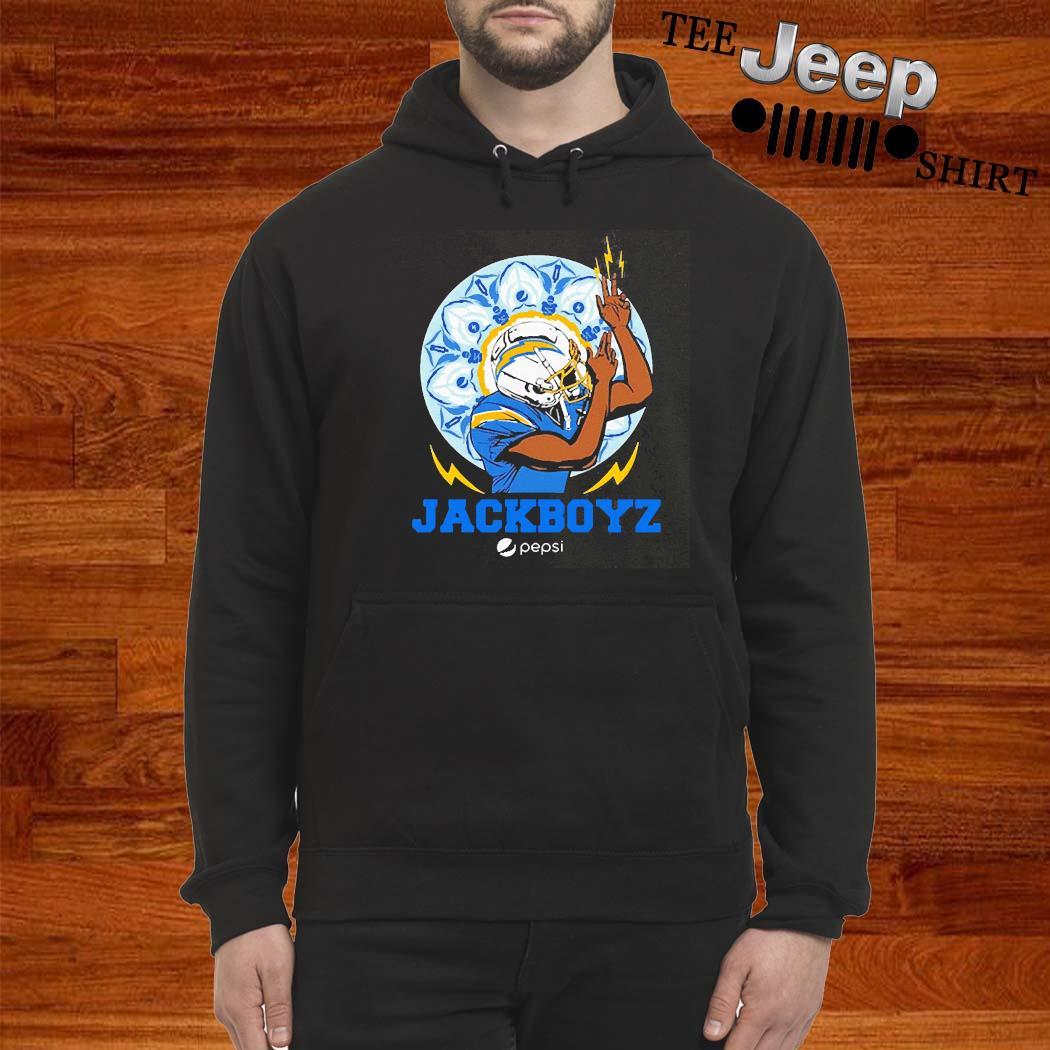 Los Angeles Chargers Jackboyz Pepsi Shirt hoodie