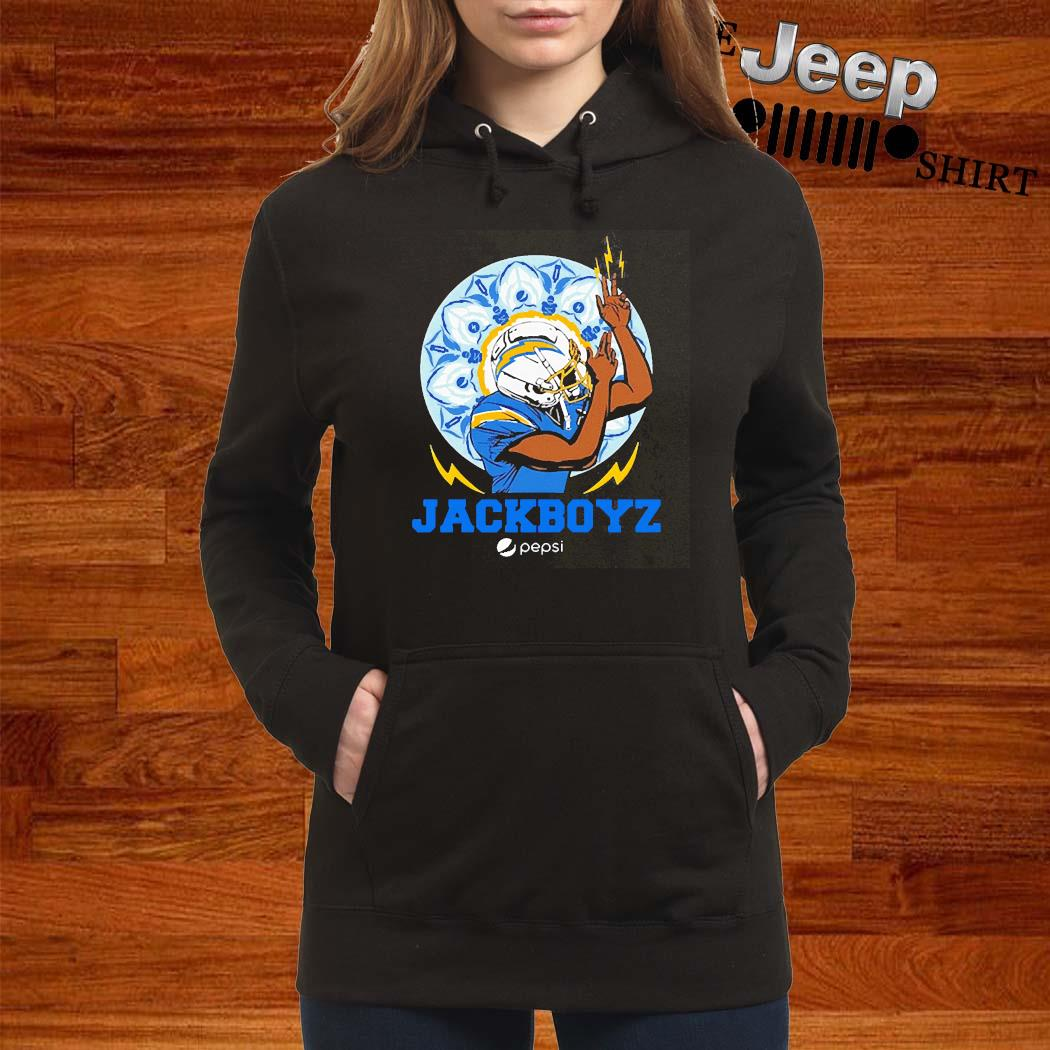 Los Angeles Chargers Jackboyz Pepsi Shirt women-hoodie