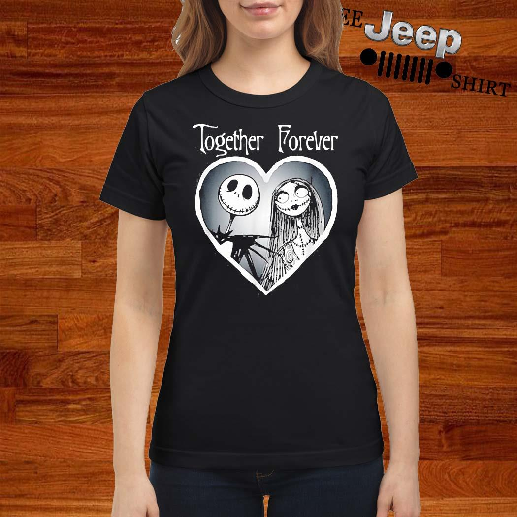 Nightmare Before Christmas Together Shirt ladies-shirt
