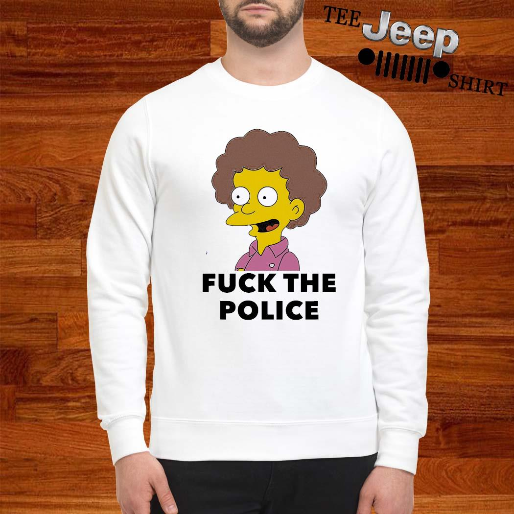 Todd Flanders Fuck The Police Shirt sweatshirt